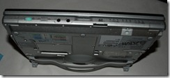 toughBook CF-C1 Bottom and front