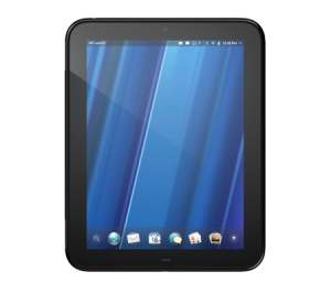 HP TouchPad Frontansicht